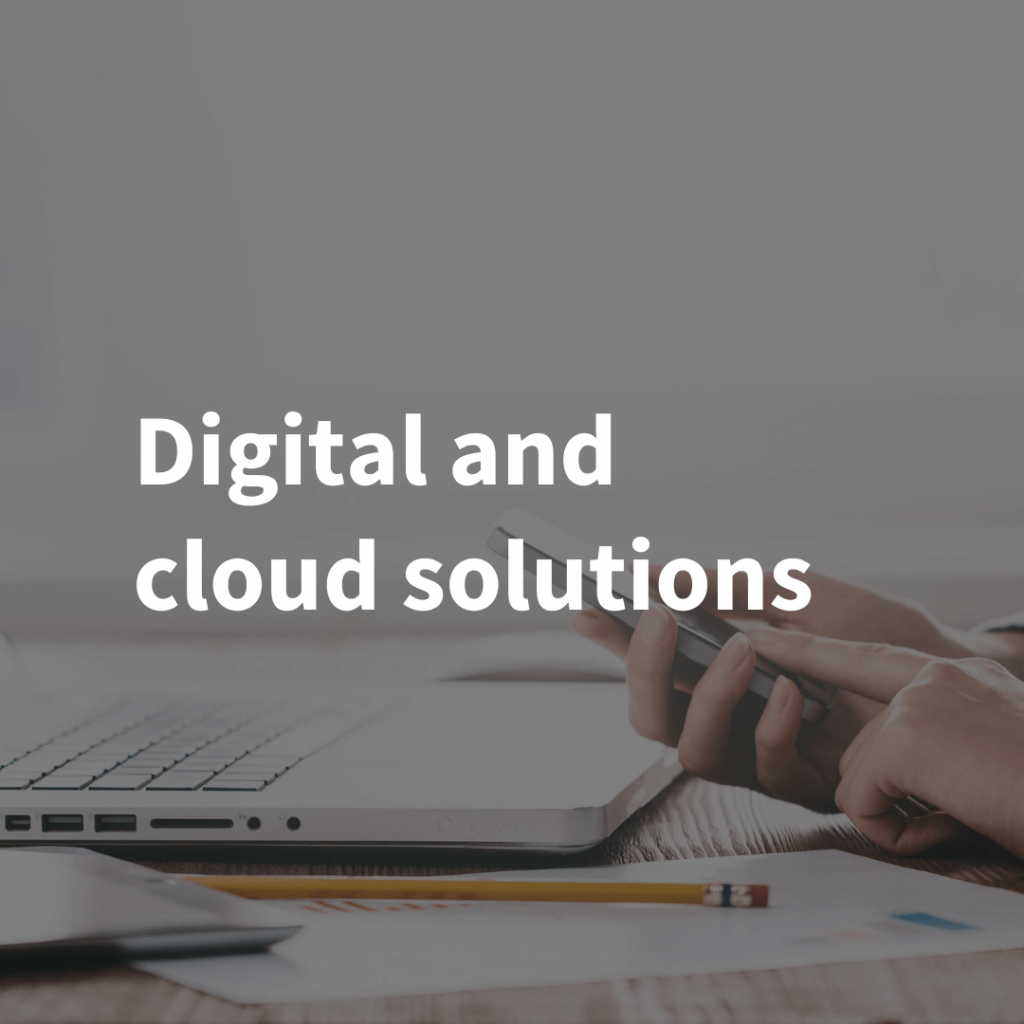 Digital and cloud solutions