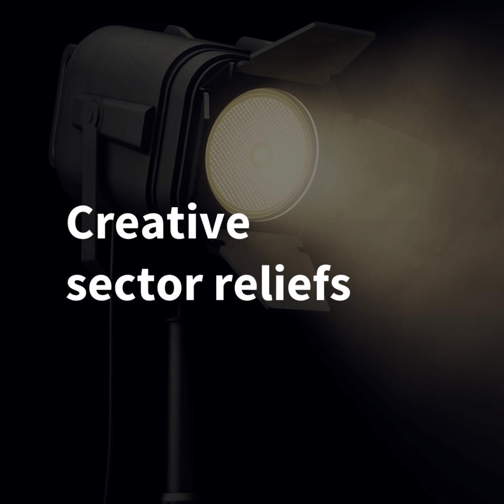 Creative sector reliefs