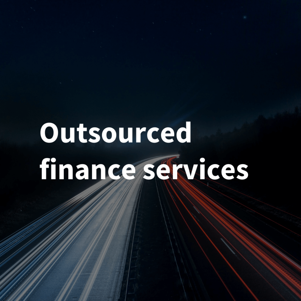 Outsourced finance services
