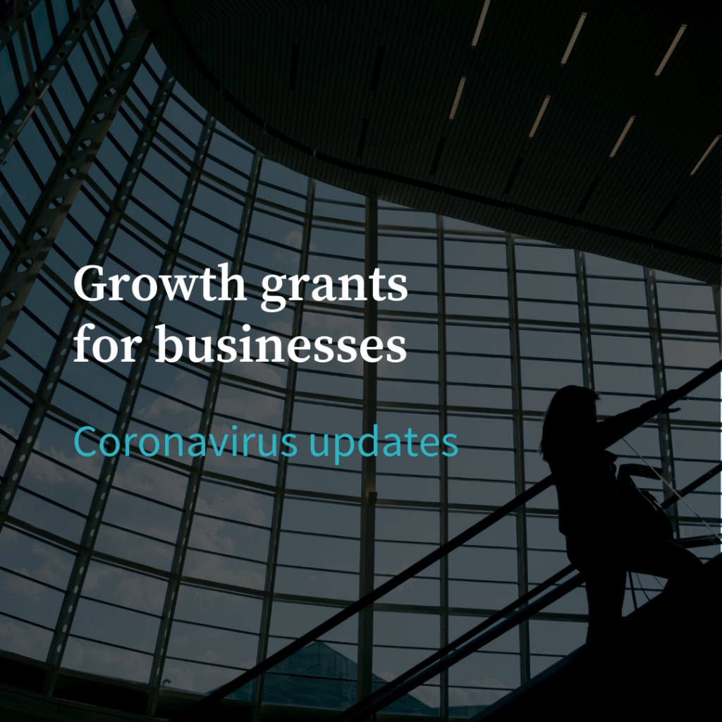 Growth grants for businesses