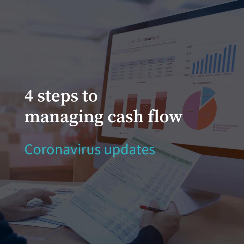 4 steps to managing cash flow